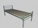 Армейские кровати металлические для обстановки казарм, бараков, тюрем - фотография №2