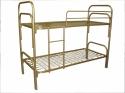 Армейские кровати металлические для обстановки казарм, бараков, тюрем - фотография №4