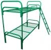 Двухъярусные кровати металлические для детских оздоровительных лагерей - фотография №3
