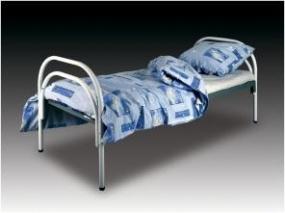 Кровати металлические эконом класса для медицинских учреждений