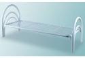 Кровати металлические эконом класса для медицинских учреждений - фотография №3