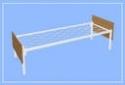 Кровати металлические эконом класса для медицинских учреждений - фотография №4