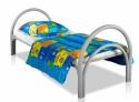 Кровати металлические эконом класса для медицинских учреждений - фотография №2