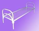 Бюджетные кровати металлические для размещения постояльцев в отелях - фотография №2