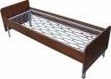 Кровати металлические с сеткой из прокатной пружины для пансионатов