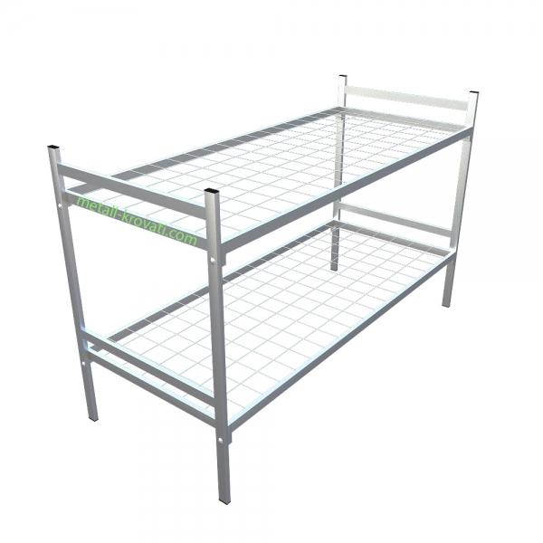 Кровати металлические армейского типа для расположения рабочих