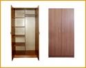Деревянные кровати, Кровати металлические с деревянными спинками, опт - фотография №5