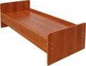 Деревянные кровати, Кровати металлические с деревянными спинками, опт - фотография №2