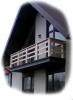 Перила балконные из массива Дуба. Размер, цвет, тематика резьбы – любы - фотография №4