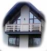 Перила балконные из массива Дуба. Размер, цвет, тематика резьбы – любы - фотография №3