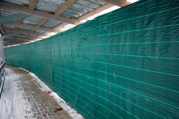 Сетка для ограждения ПП210 (зеленая) 2,1 50м.