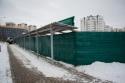 Сетка для ограждения стройплощадок ПП210 (зеленая) 2,1х100м. - фотография №2