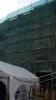 Сетка фасадная защитная затеняющая 80г/м2 3*50м, 2*50м, 2*100м - фотография №2